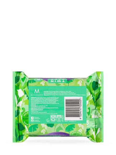 Eco Aloe Vera Biodegradable Facial Wipes 2x25 pack