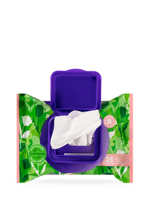 Eco Sensitive Biodegradable Facial Wipes 2x25 Pack