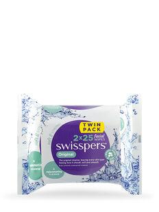 Original Facial Wipes 2x25 pack
