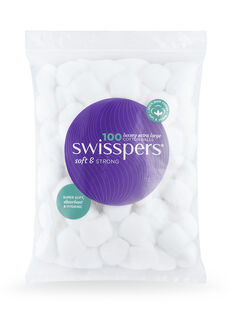 Cotton Balls Luxury Sized Wool 100 pack